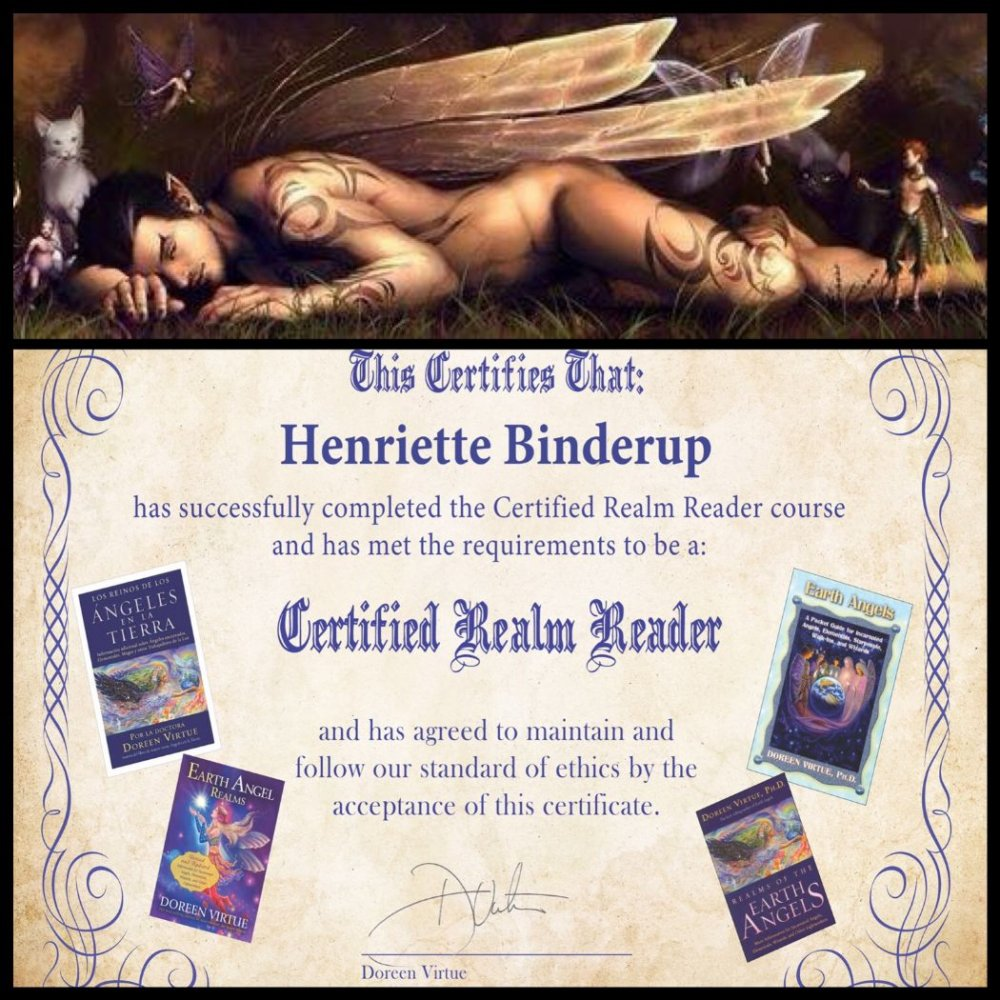 earth angel henriette binderup